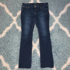 Express Stella Low Rise Barely Boot Jeans Size 12